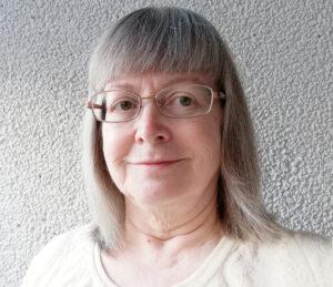 Vapaaehtoistyöntekijä ja yhdistyksen jäsen Sirpa Mustonen